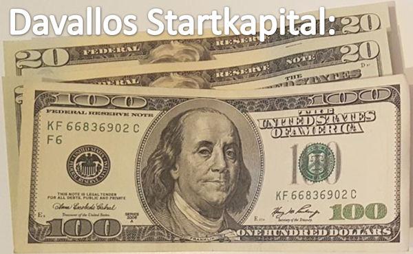 Davallos Startkapital